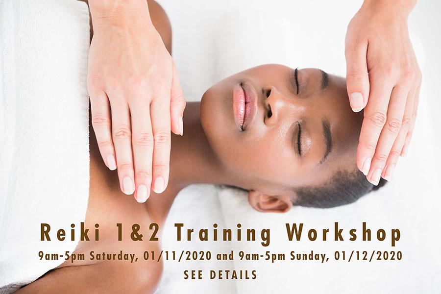 Reiki Training Workshop Poster